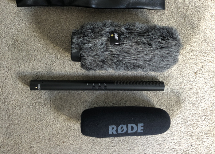 Rode NTG-4 + microphone  - 1