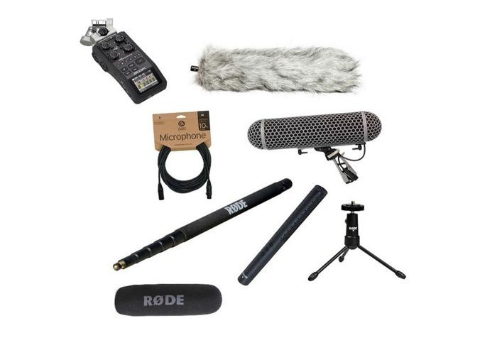Rode NTG4 + Shotgun Microphone - Pluss Broadcast Sound Recording Bundle - 1