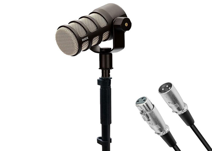 Rode Podmic with table stand and XLR cable - 1