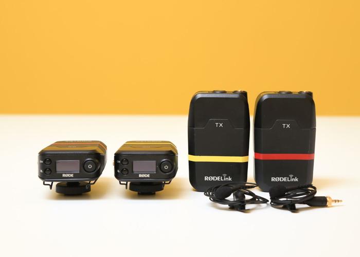 Rode RodeLink x2 (Lav Microphones) radio microphone - 1