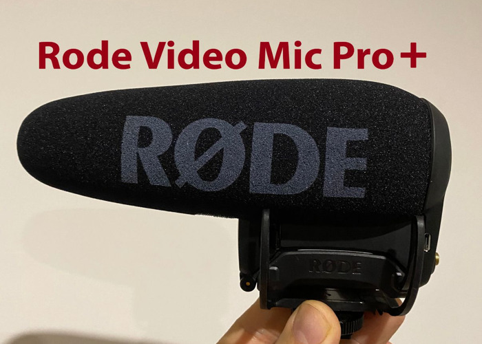Rode Video Mic Pro + (boom, shotgun, radio, lapel) - 1