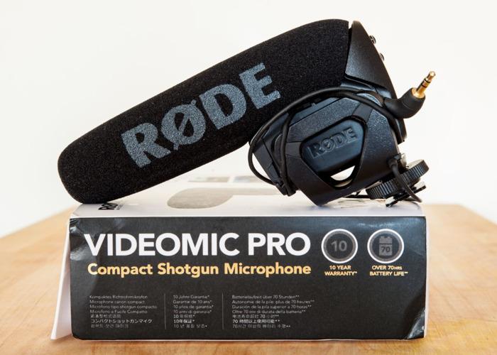 Rode Video Mic Pro Shotgun Mic 3.5mm jack, boxed - 1