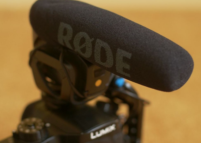 Rode Videomic Pro with Deadcat - 2