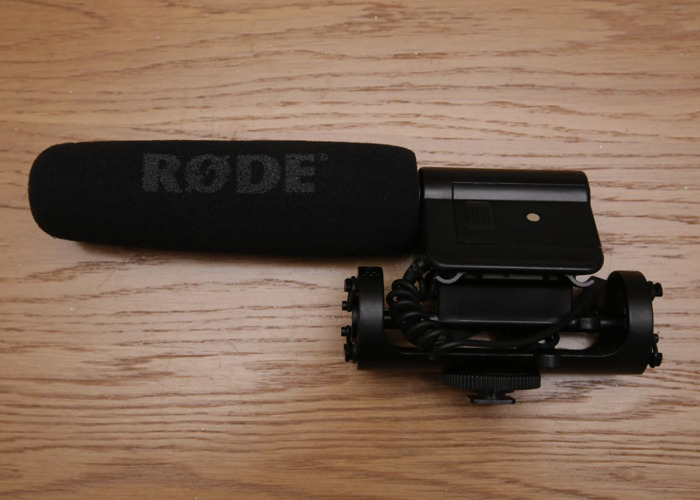 (3 day hire min) Rode Videomic (DSLR Mic) Super Cardioid  - 1