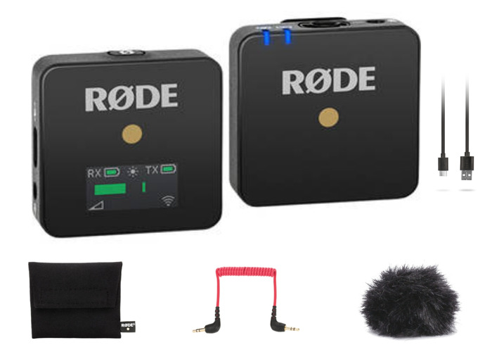 Rode Wireless GO | Compact Wireless Microphone System | Rodelink Lavalier Lav Lapel Mic | 2 of 2 - 1