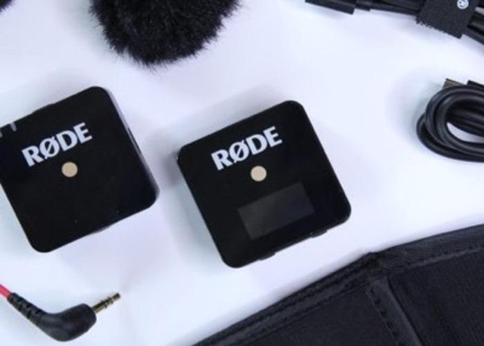 Rode Wireless go Kit with Go Lavalier - 1