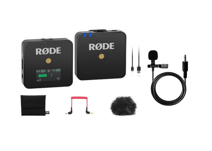 Rode Wireless Go w/ Lavalier Go Mic | 1 of 2 - 1