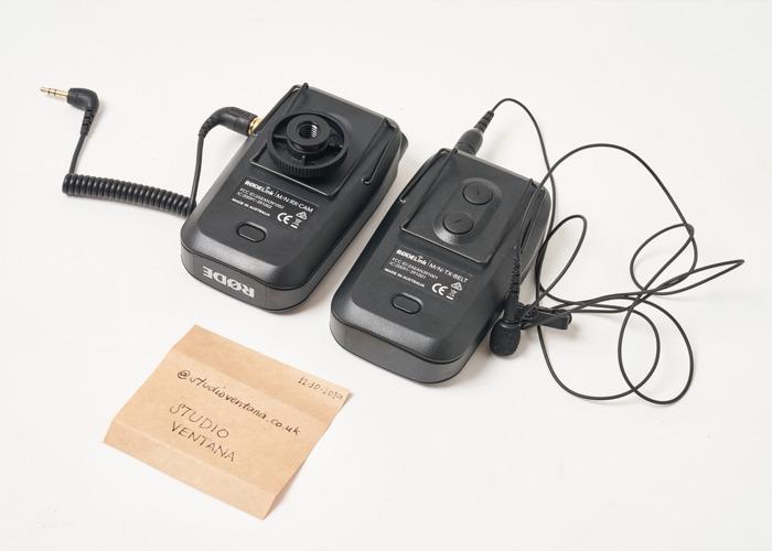 Rode Wireless Lavalier Microphone (Filmmaker Kit) - 2