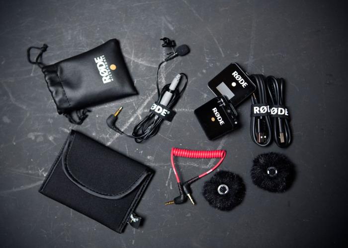 2x Rode wireless mic go lav lavalier  - 1