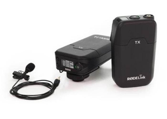 RodeLink Filmmaker Wireless Lav Mic Kit  - 1
