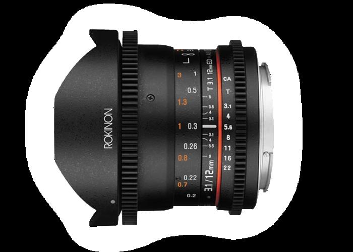 Rokinon 12mm Cine Lens T2.2 (Micro 4/3, Samyang) - 1