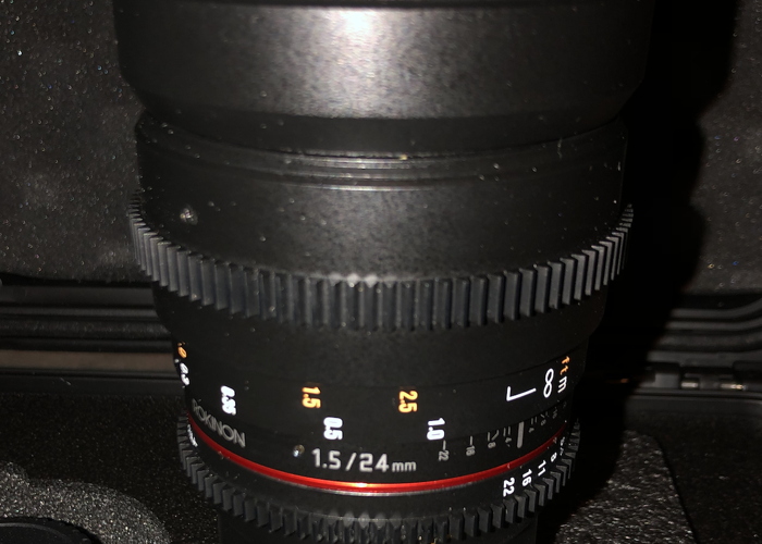 Rokinon 24mm T1.5 Cine DS Lens for Micro Four Thirds - 2
