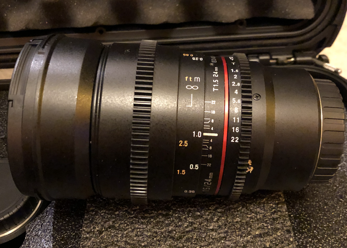 Rokinon 24mm T1.5 Cine DS Lens for Micro Four Thirds - 1