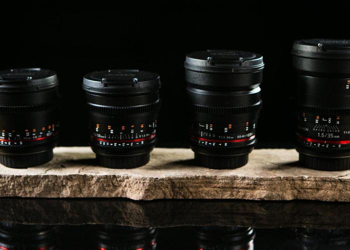 Rokinon EF Cinema Lens Package - 1