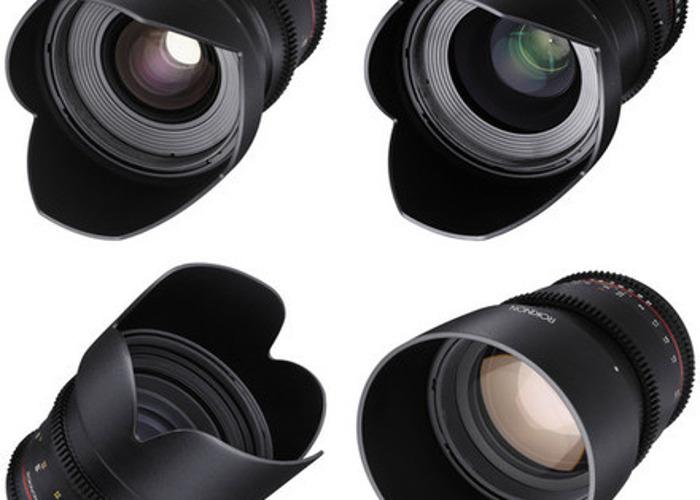 Rokinon EF T1.5 Cine Lens Set  - 1