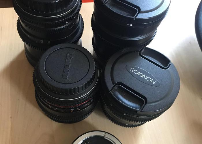 Rokinon Kit lenses  - 1
