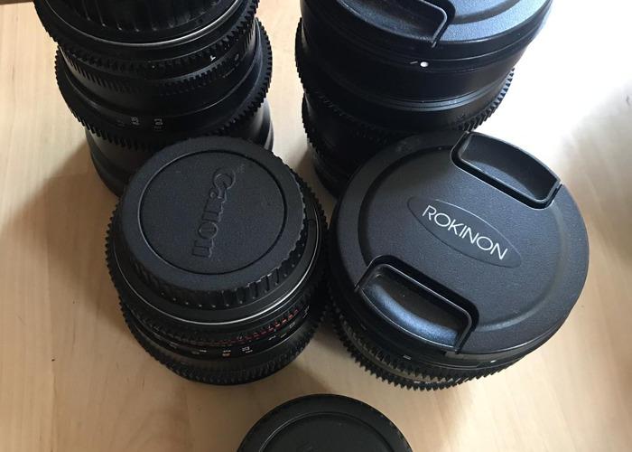 Rokinon Kit lenses  - 2