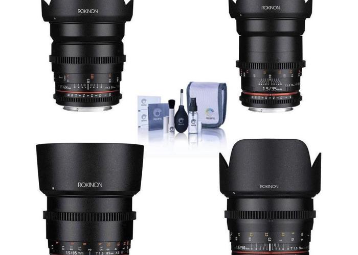 Rokinon Kit lenses for MFT mount - 2