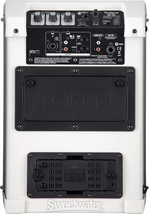 Roland BA55 Portable P.A. System - 2
