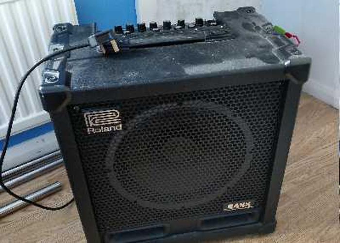 Roland Cube 120xl Bass Amp - 1