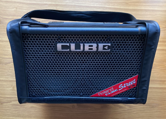 Roland Cube Street EX Battery Powered Stereo Amplifier  - 1