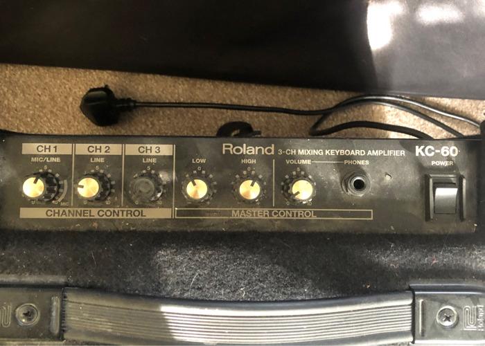 Roland KC-60 3-CH Mixing Keyboard Amplifier  - 2