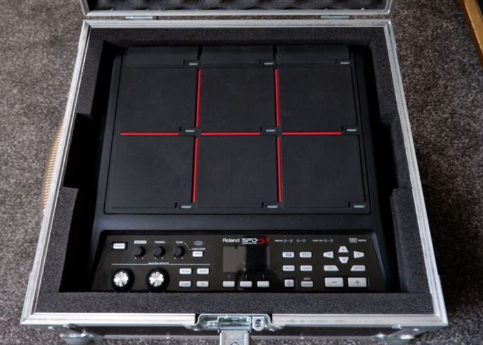 Roland SPDSX + Hard Case + Midi lead and triggers - 1