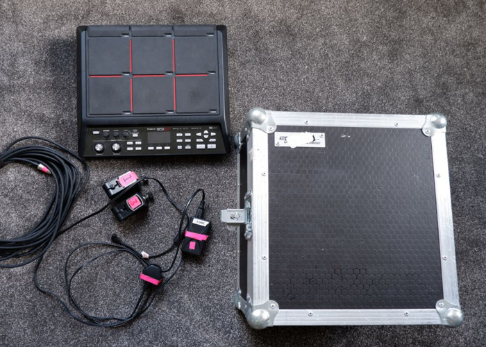 Roland SPDSX + Hard Case + Midi lead and triggers - 2