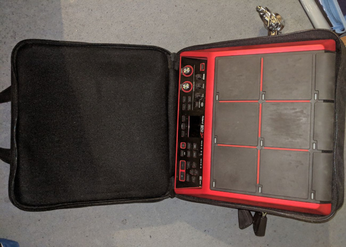 Roland SPD-SX Special Edition Sampling Pad + Bag + PDS Stand - 1