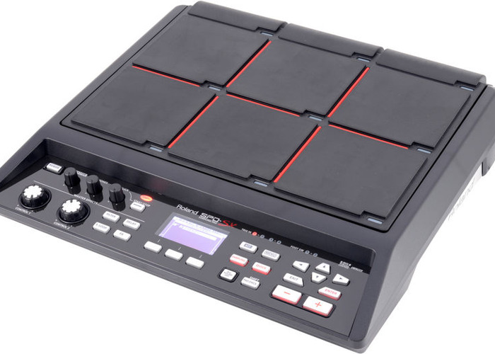 Roland SPD-SX with stand and foot switch - 1