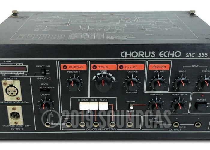 Roland SRE-555 Space Echo  - 1