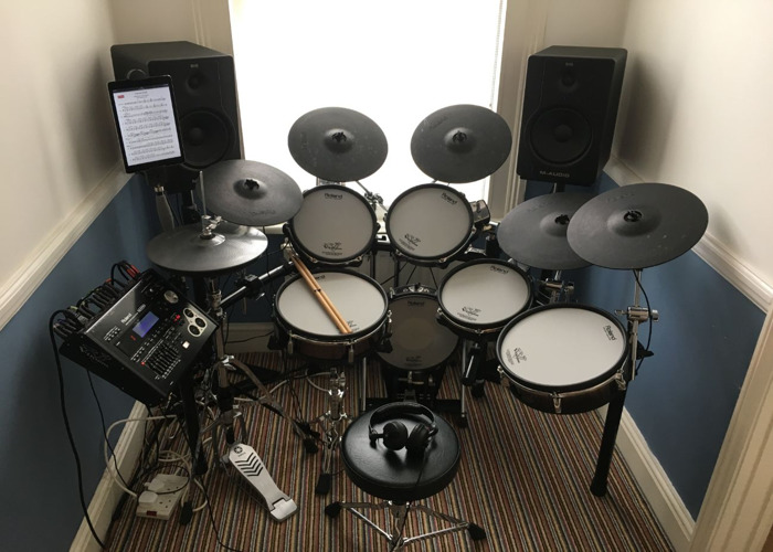 Roland V drums TD-30 KV upgraded  - 1