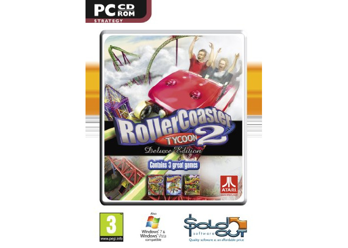 Buy Rollercoaster Tycoon 2 Deluxe (PC CD) [video game] | Fat