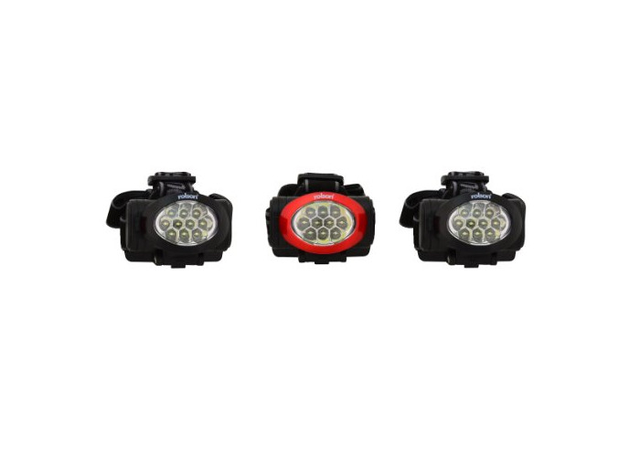 Rolson Ten LED Headlight - 3 Pieces - 1