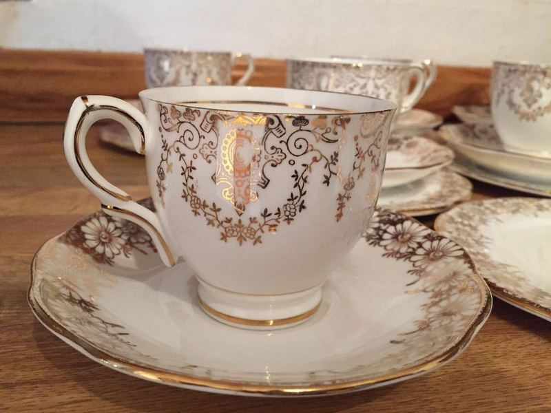 Roslyn China tea set  - 1