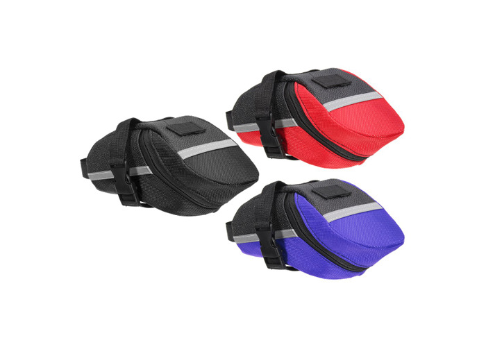 ROSWHEEL Outdoor Waterproof Bicycle Saddle Bag Pouch Tail Rear Storage Seat - 1