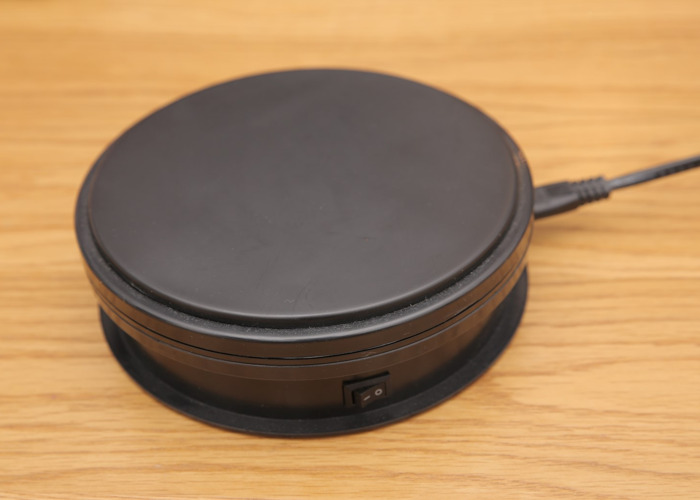Rotating Display Turntable for Presentations and Awards - 1