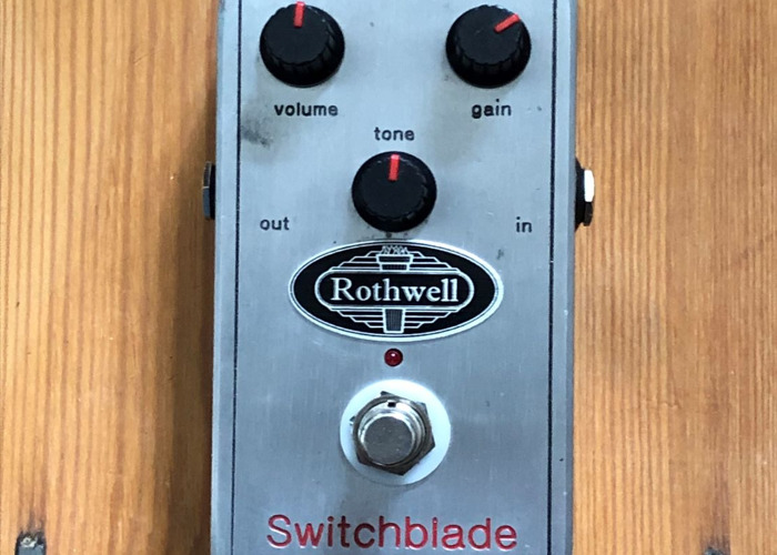 Rothwell Switchblade Distortion Guitar Effects Pedal - 1