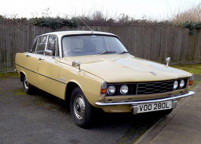 Rover 2000SC (1972) - 1