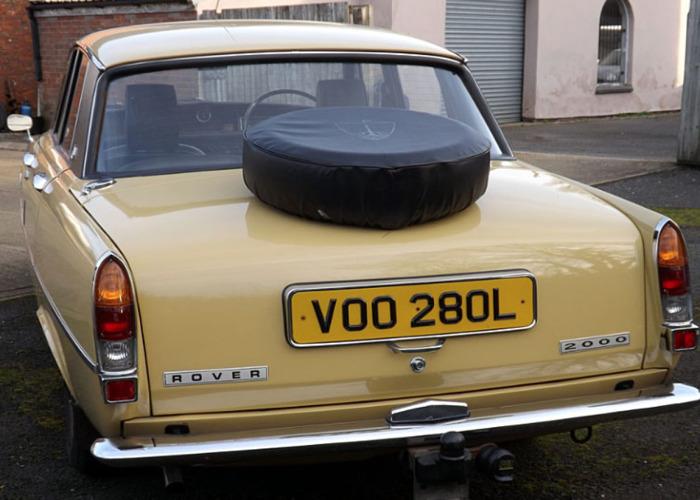 Rover 2000SC (1972) - 2