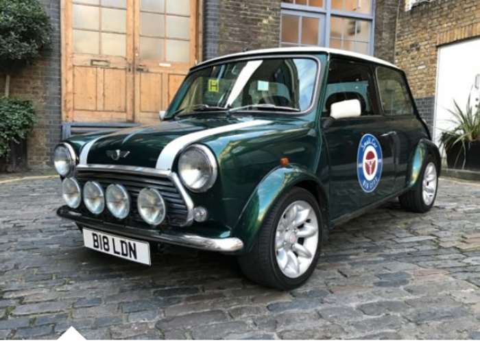 Rent Rover Mini Cooper Sports Pack 1998 Daisy In London Fat