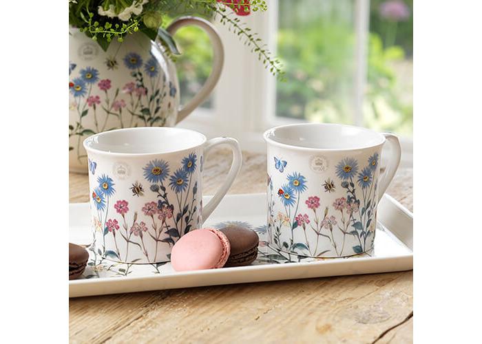 Royal Botanical Gardens, Kew Meadow Bugs Tea For Two Gift Set, White, 3-Piece - 2