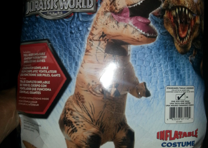 Rent Rubie's Costume Co - Jurassic World Inflatable Adult T