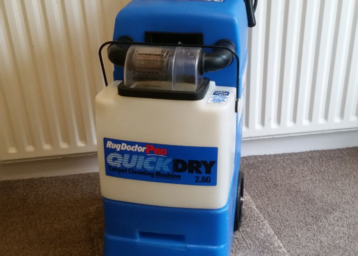 Rug Doctor Pro Quick Dry Carpet Cleaning Machine For Hire In Dewsbury