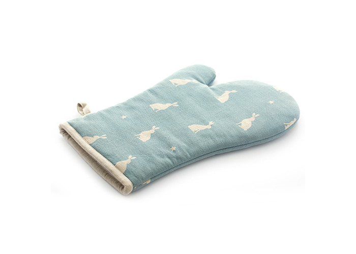 Rushbrookes Stargazing Hare 100% Cotton Oven Gauntlet - 2
