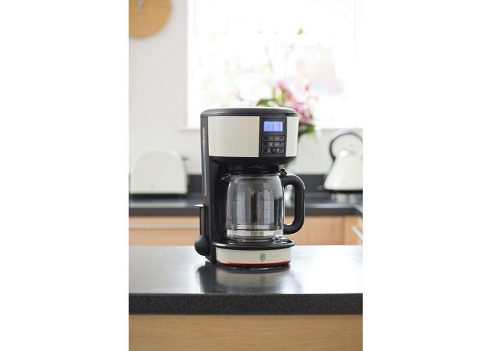 Russell Hobbs 20683 Legacy Coffee Maker, 1.25L - Cream - 2
