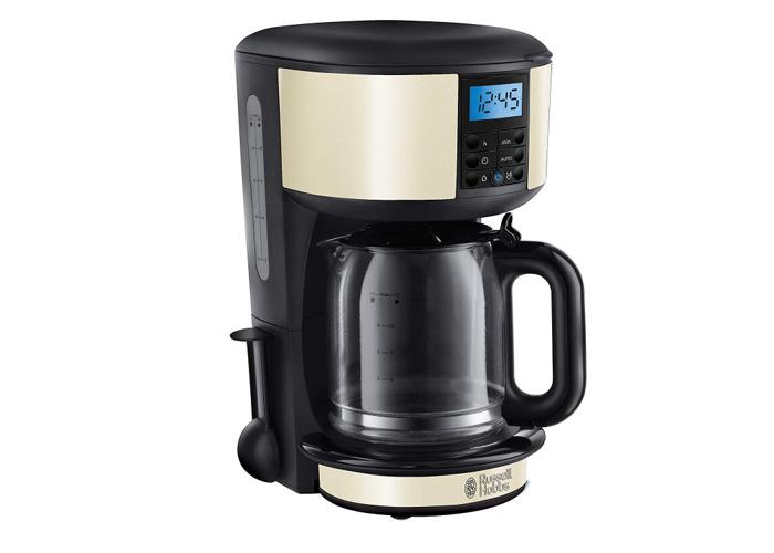Russell Hobbs 20683 Legacy Coffee Maker, 1.25L - Cream - 1