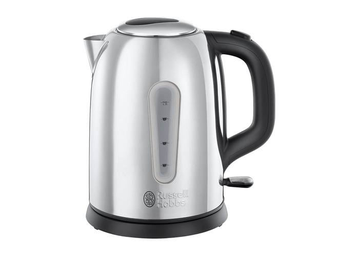 Russell Hobbs 23760 Coniston Kettle, 1.7 Litre, 3000 W, Silver - 1