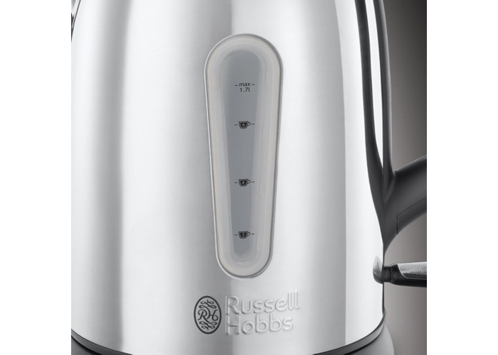 Russell Hobbs 23760 Coniston Kettle, 1.7 Litre, 3000 W, Silver - 2