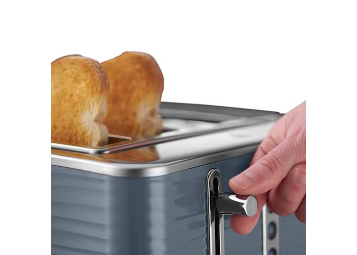 Russell Hobbs 4 Slice Inspire Toaster Grey - 2